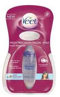 (Veet High Precision Facial Wax Hair Remover, .5 oz)