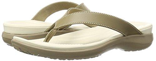 Crocs Women's Capri V Teal Flip Flop