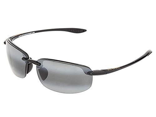 Maui Jim Unisex Ho'okipa Readers 2.0 Gloss Black/Neutral Grey Lens/2.0 Lens ()
