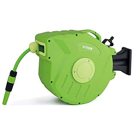 Yogasada 20M + 2M automática retráctil del compresor de Aire del Agua del Tambor Carrete de Manguera de rebobinado automático Potente Herramienta Garaje ...