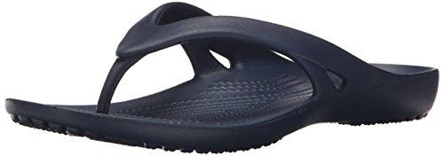 Bleu Navy Women Crocs Flip Tongs Kadee II Femme ax8qYC