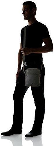 Bolso Negro Klein Calvin Para Tom Reporter Hombre wYZwnfT4