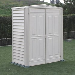 DuraMax Model 00911 5x3 YardMate Vinyl floored Storage Shed