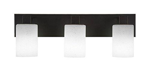 Toltec Lighting Apollo 3 Light Bath Bar with 4