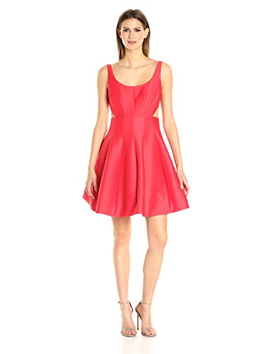 Silk Scoop Neck Dress - 5