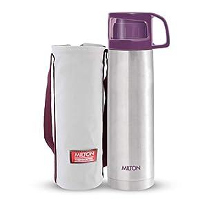 Milton Glassy Flask 500ml Vacuum Flasks – Purple