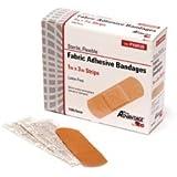 """PRO ADVANTAGE® FABRIC ADHESIVE BANDAGE - Adhesive Bandage, Strips, 1"""" x 3"""", 100/bx"""