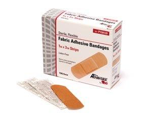 PRO ADVANTAGE® FABRIC ADHESIVE BANDAGE - Adhesive Bandage, Strips, 1
