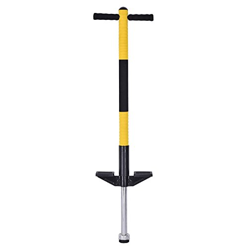 COSTWAY Children Balance Training Single Jump Pogo Stick - Yellow by COSTWAY