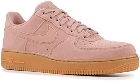 sports shoes 635a2 4e02f Nike Men s Air Force 1 07 LV8 Suede Shoe Particle Pink Gum