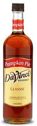 Da Vinci Pumpkin Pie Syrup, 750 ml Bottle (Da Vinci Pumpkin Pie)