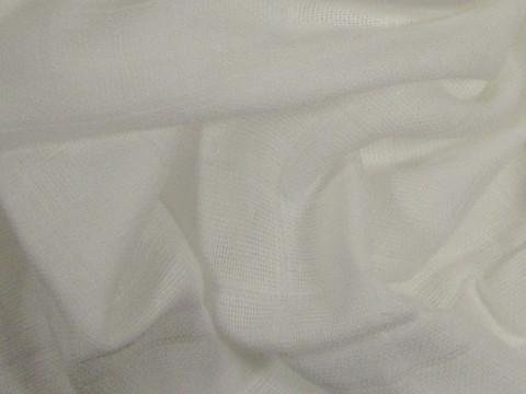 Organic Cotton Double Gauze-60 Inches Wide-White