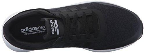 adidas NEO mujer Cloudfoam Carrera W Running Shoe Negro/negro/blanco
