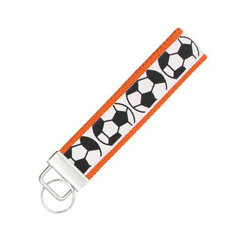Infinity Collection Soccer Keychain, Soccer Gifts, Soccer Wristlet FOB, Proud Soccer Player, Team or Coach Gifts