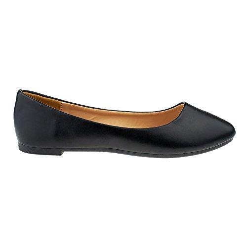 Black London London Donna Balletto Footwear Footwear Balletto YRqnwx7SCE