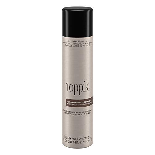 Toppik Colored Hair Thickener, Medium Brown, 5.1 OZ (Toppik Hair Fibers)