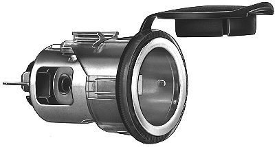 HELLA 008023001 2-Pole Socket with Cover