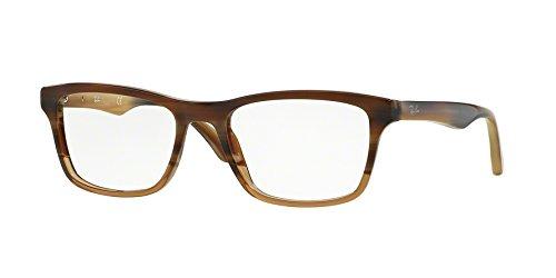 Eyeglasses Ray-Ban Vista RX 5279 5542 BROWN HORN GRAD TRASP - Ray Ban 5279
