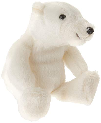 - Folkmanis Mini Polar Bear Finger Puppet