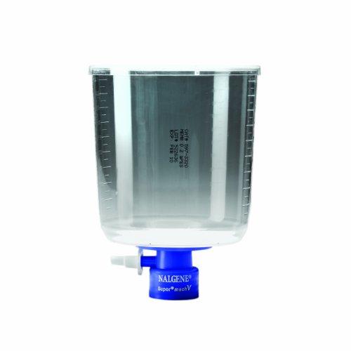 Nalgene MF75 Series Bottle Top Filter, Supor machV membrane, Fits 45mm Media Bottle Neck, 0.2 Micron, 90mm Membrane Diameter, 1000mL Capacity (Case of ()
