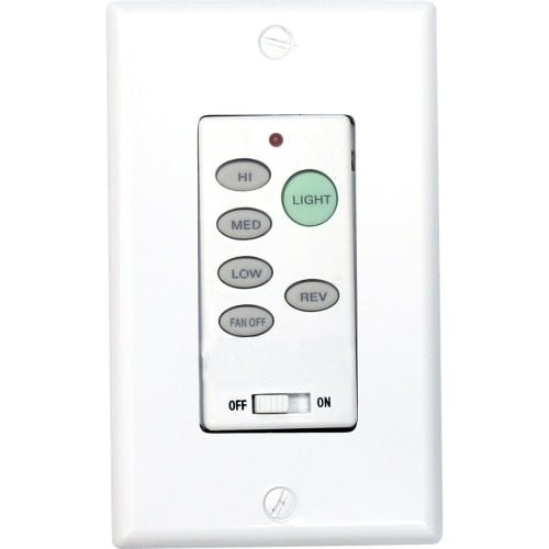 2.75' Fan (Progress Lighting P2631-30 Full-Function Wall Control Transmitter, White)