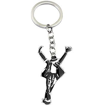 Michael Jackson Llavero Espacio Danza Figura Llavero ...