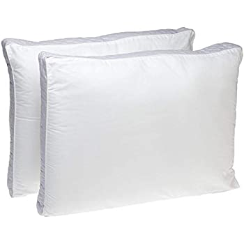 Perfect Fit | Gusseted Quilted Pillow Hypoallergenic, 233 Thread-Count, Extra Firm Density, Set of, 2 (Side Sleeper)