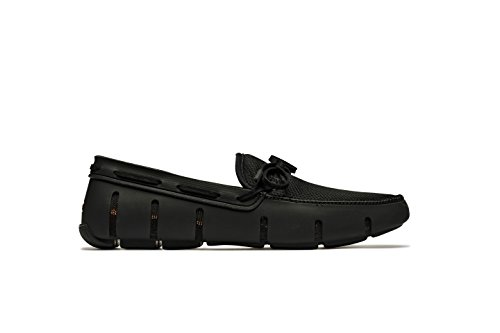 SWIMS Men's Lace Loafer for Pool - Black - 7 by SWIMS