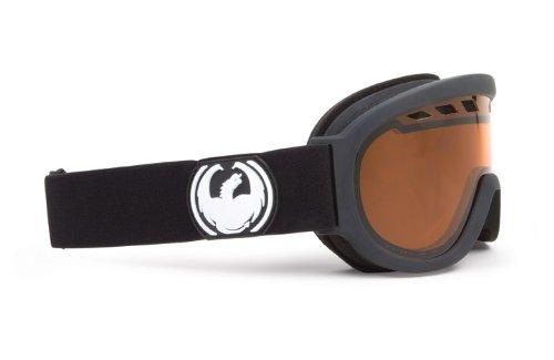 Dragon D1XT - Gafas de ventisca para esquí negro coal amber Talla:medium