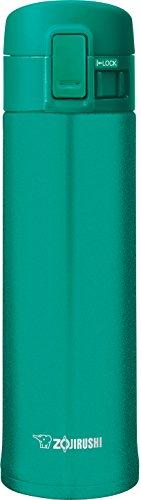 Zojirushi SM-KHE48GC Stainless Steel Mug, 16 oz, Emerald (Steel Emerald)
