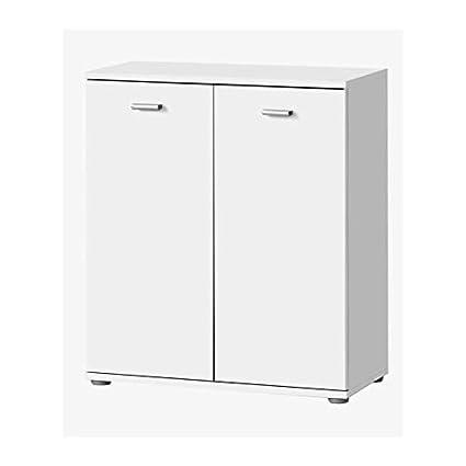DIXI Buffet bas contemporain blanc laqué - L 61 cm: Amazon ...