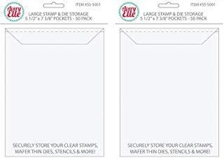 Avery Elle Stamp & Die Large Storage Pockets # SS-5001 (Bundle 2 Items)