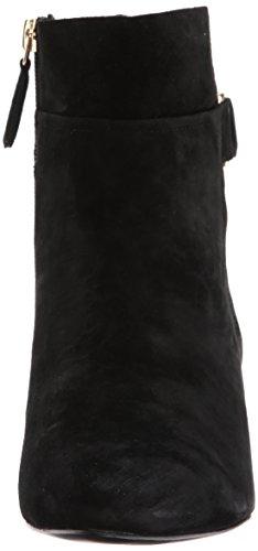 Stivali Nove Donne Ovest Jabali Camoscio Nero