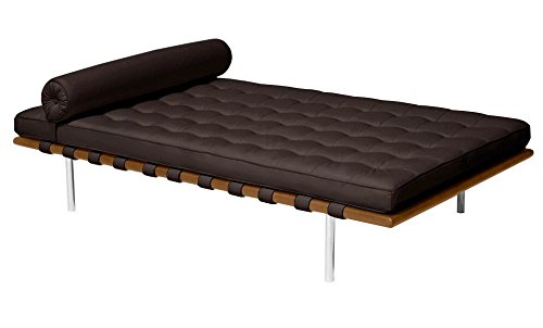Italian Leather Daybed (Classic Romano Top Grain Italian Leather Daybed 77