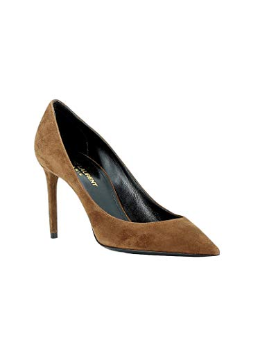 Cuir Femme Escarpins Laurent 5297310li002330 Saint Marron wOaBHq