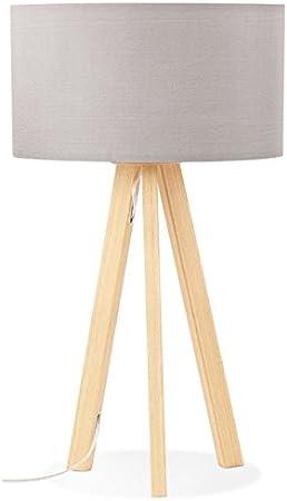 Lampe Tisch auf Stativ skandinavischen TRANI MINI (schwarz) Tischleuchte