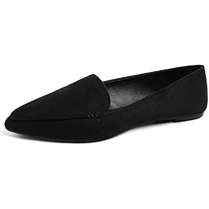 MUSSHOE Loafers for Women Comfortable Pointed Toe Women's Loafers & Slip-ons Women's Flats Flats Shoes Women
