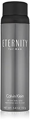 Eternity Men/calvin Klein All Over Body Spray 5.4 Oz (m)