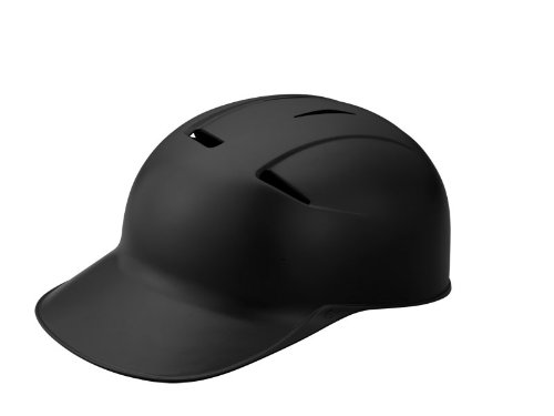 EASTON CCX Skull Cap Baseball Softball Helmet | Senior | L / XL | Matte Black | 2019 | Dual Density Impact Absorption Foam | High Impact Resistant ABS Shell | Moisture Wicking BioDRI liner ()