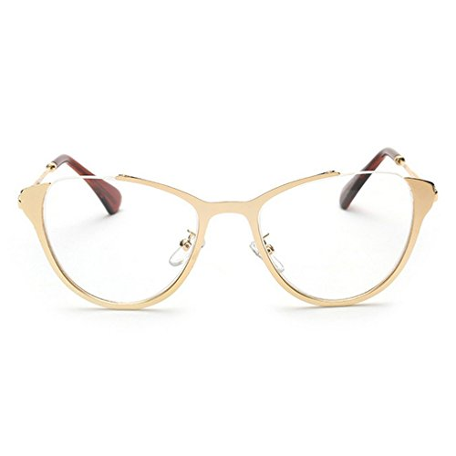 LOMOL Girls Fashion Trendy Cute College Style Transparent Lens Cateye EyeGlasses Plain - Online Barton Perreira