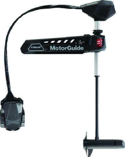 MotorGuide 941900020 Tour Pro Pinpoint GPS Bow Mount Cable Steer, 82 Lbs. Thrust, 45 Shaft