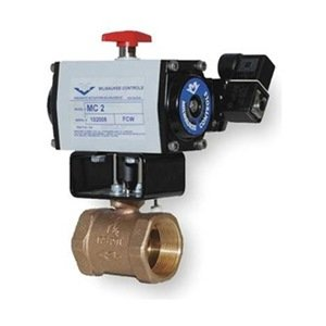 Milwaukee Valve - MBDAO - 1 - Butterfly Valve, Dbl Acting, Bronze, 1 In. by Milwaukee Valve
