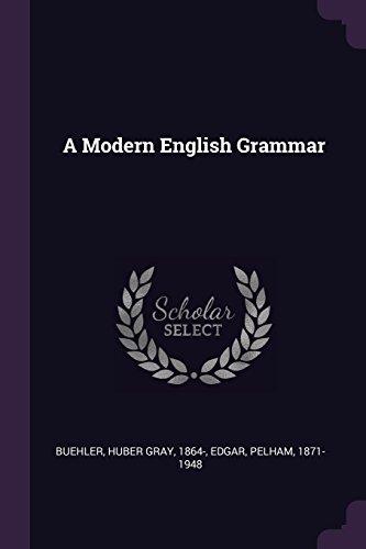 A Modern English Grammar