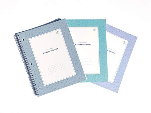 N college notebook Grey,Mint,Purple (3 books) for use with Neopen N2 Smartpen or Neopen M1 Smartpen ...