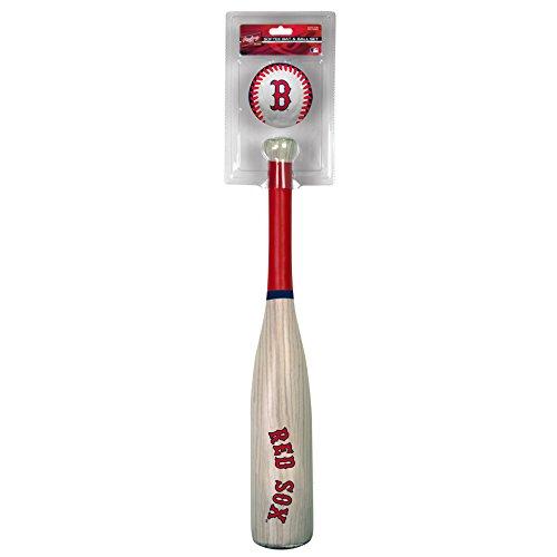 Rawlings MLB Boston Red Sox Grandslam Bat and Ball, Blue -