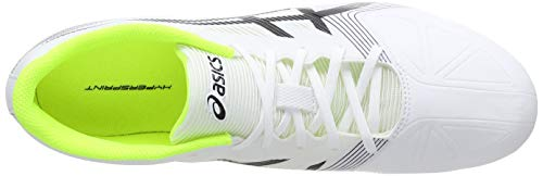 6 White Hypersprint Asics de Zapatillas 0190 Adulto Yellow Black Unisex Blanco Atletismo Safety S58wa