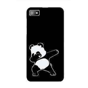 Cover It Up - Dabbing Panda BlackBerry Z10 Hard Case