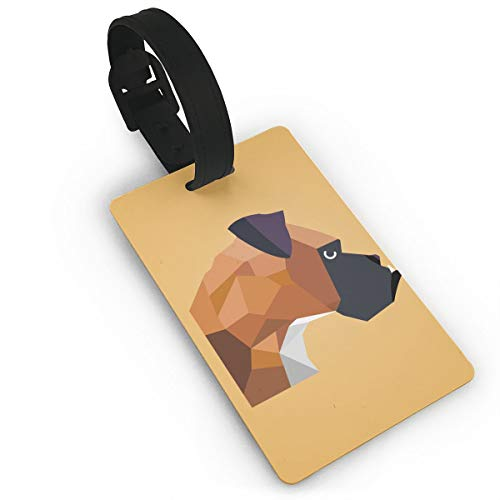 Luggage Tags Boxer Dog Classification Of Suitcase Labels For Baggage Suitcases Bags