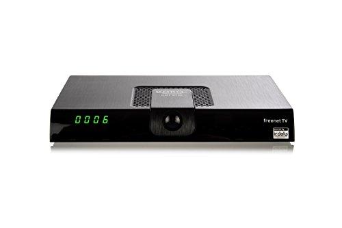 Xoro HRT8720 Full HDHEVC DVB-T/T2Receiver(H.265, HDTV, HDMI, kartenloses Irdeto-Zugangssystem für freenet TV, Mediaplayer, PVR Ready, USB 2.0, 12V) schwarz