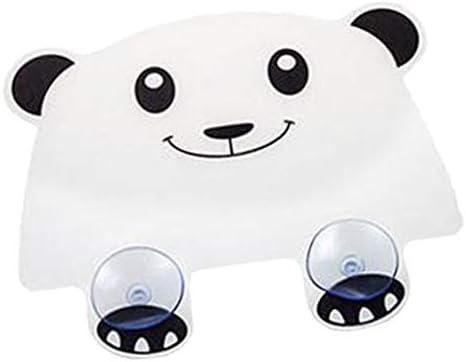 SM SunniMix Sink Splash Proof Guard met Zuignappen Flexibele Leuke Panda Vorm Keuken Decor Gadgets